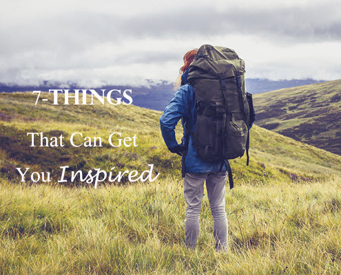 7 Things can get you inspire